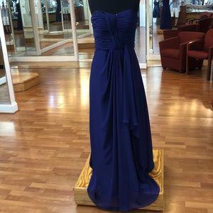 Amethyst bridesmaid dress